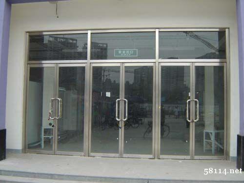 清水安装玻璃门门头沟安装自动门