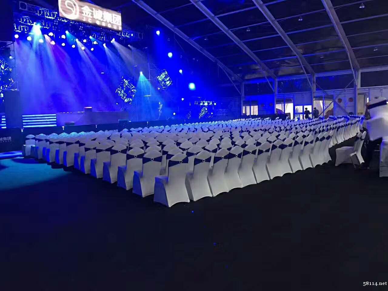 北京明星见面会签到桌租赁_观众折叠椅宴会椅租赁